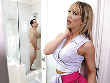 Sneaking Around With Her Bff's Son Starring Cherie Deville And T