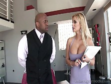 Always Sex-Hungry Busty Blond Milf Shyla Styles Hooks Up With Bl