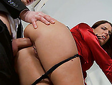 Lyen Parker's Gaping Butt Hole Penetrated By A Skillful Lover