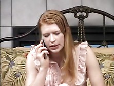 Amazing Homemade Redhead,  Spanking Xxx Movie