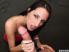 Kortney Kane Gets Naked And Sucks Cock At The Jam With The Drumm