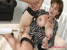 Lady Sonia Trophy Wife Pounded By Huge Fucking Machine