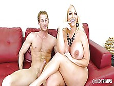 Exquisite Blonde Woman With Big Boobs,  Alura Jenson Is Cheating