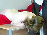 Cute Girl Gets Hard Spanking