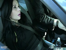 Tattooed Goth Milf Joanna Angel Gets Punished In The Dark Bdsm Room