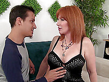 Redhead Mature Freya Fantasia Loves To Fuck Badly With Her Frien