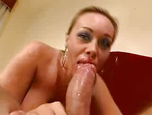 Antonella Del Lago Sucks Hard Large Penis And Bonks