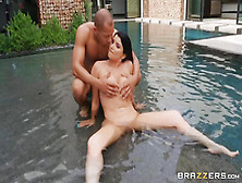 Ricky Ends This Scene By Shooting His Cum On Romi Rain's Tits