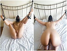 Amateurs Bondage With Anal Oral Sex And Finished Off With Squirt Morning Fuck In Three Holes By Bbc