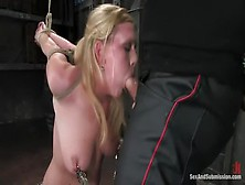 Godlike Victoria Vonn Having A Real Bdsm Experience