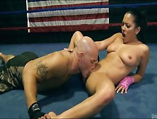 Sugar Adriana Luna Giving A Hot Handjob