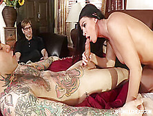 India Summer Is Getting Nailed In Front Of Her Kinky Partner,  Because He Likes To Watch