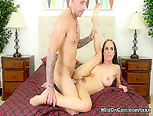 Hottest Pornstars Brandy Aniston,  Barry Scott In Fabulous Fake T
