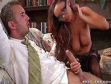 Comely Buxomy British Danni Cole Is Blowing My Dicks