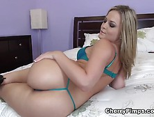Alexis Texas Hot Solo Masturbation In The Ver Whit Lingerie