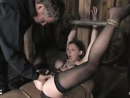 19Yr Old Sara Scott In Extreme Bondage,  Pussy Fingered And Fucke