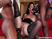 India Summer And Her Black Guys Are Fucking Like Wild Animals In