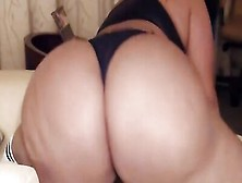 Bubble Butt Amateur Babe Lets You Worship Her Ass While She's Masturbating
