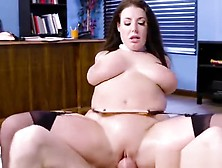 Hot Vixen Angela White Gets Humped And Facialized