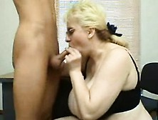 Fresh Intern Is Used By Mature Bbw