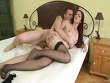 Winsome Buxomy Undergraduate Mira Sunset Gives A Magic Bj
