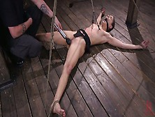 Tied Up Porn Model Abella Danger Gets Punished In The Bdsm Room