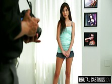 Young Pretty Hot Chick Kelly Kitty Shows Her Talents In Casting