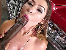 Melissa Moore Gets Her Hairy Pussy Stretched With A Black Cock