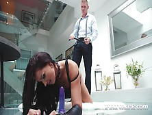Submissive Brunette Jolee Love Debuts With Anal