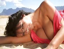 Celebrity Milani Nude Pink Gif