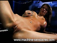 Round Titted Lulu Lustern With Pierced Clit Has A Good Time With