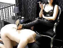 German Painful Bdsm Milf With Cigarette