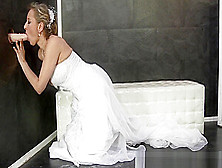 Bride Rides Gloryhole Toy