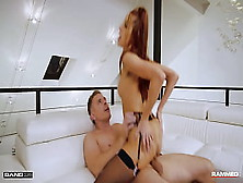 Drilled - Cute Ginger In Alluring Lingerie Screwed Hard-Core