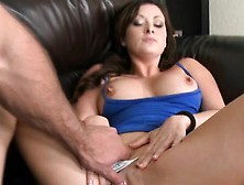 Sexy Milf Gives Sexy Striptease Revealing Her Big Wobblers