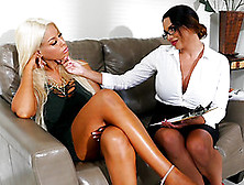 Bridgette B Cannot Resist A Lesbian Game With Missy Martinez