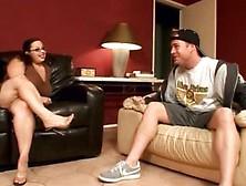 Devyn devine bbw couch sex