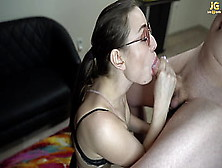 Whore Sensual Prick Swallowing Classmate While No 1 Sees Them - Julia Gold