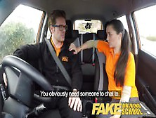 Fake Driving School Little English Teen Gets Fucked After Her Le