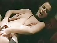 extreme pierced german big boob mom enjoys a rough labia stretching lesson