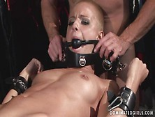 Submissive Bondage Shopgirl Whore Manacle...